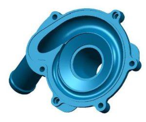 Pumpengehäuse mit Einfachspiralkanal, Fa. NGPM Merbelsrod