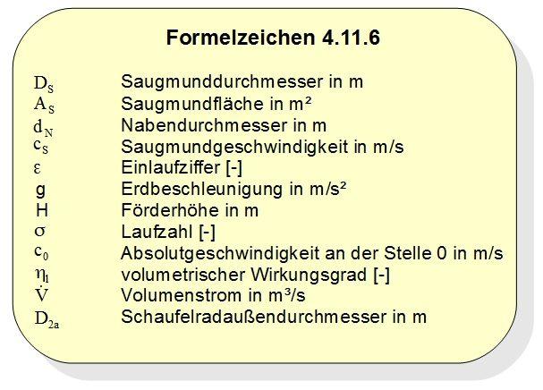 formelzeichen 4.11.6